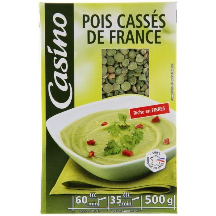 Pois cassés de France - 500g