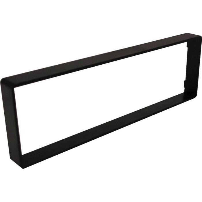 Entretoise Universelle 15mm pour autoradio simple DIN noir Universel