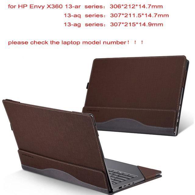 Sacoches & Housses Ordinateur,Housse d'ordinateur portable détachable pour Hp Envy X360 13.3 pouces - Type coffee-envy 13-ah series