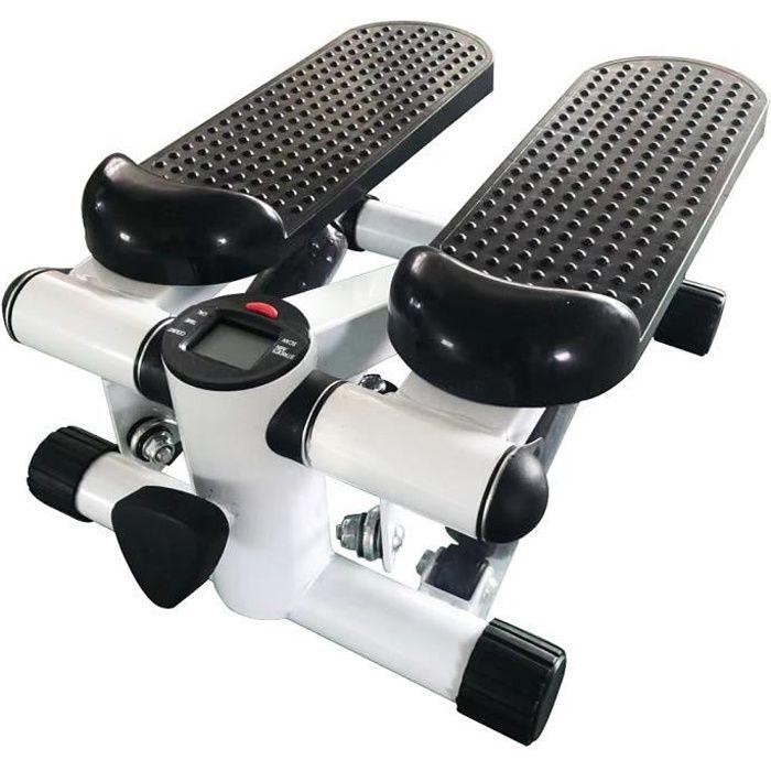 Mini Stepper avec Compteur - Entraînement aérobic - Appareil pour jambes,hanches,fesses