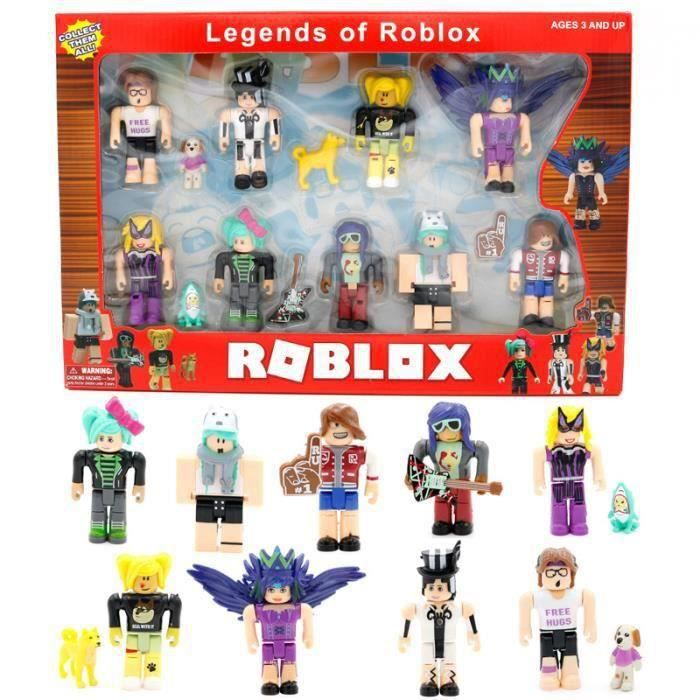 ROBLOX monde neuf figurines Pack 7 cm modèle poupées jouets Figurines Collection blocs de construction cadeau de noël
