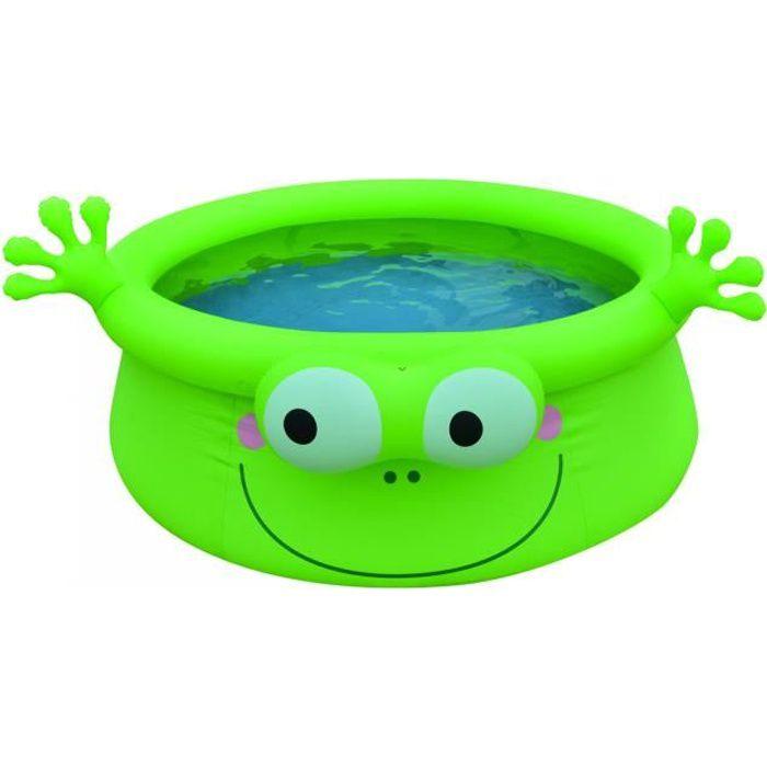 Jilong - Prompt set piscine grenouille 183x63 cm - Vert