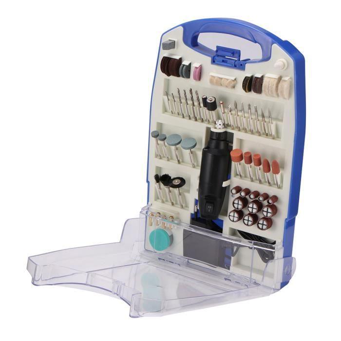 Mini Perceuse Electrique 30W + 110Pcs Accessoires Pour Artisanat & Création De Bricolage - Eu Plug
