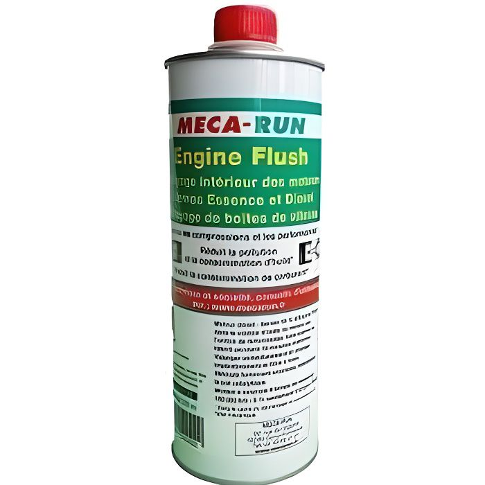 ADDITIF TRAITEMENT MECARUN ENGINE FLUSH 500ML NETTOYAGE INTÉRIEUR MOTEUR