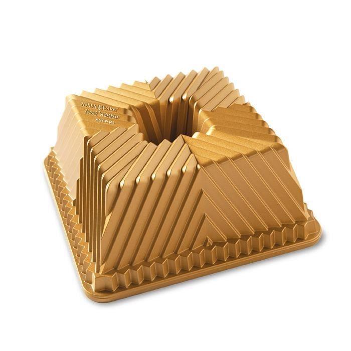 Nordic Ware Square GOLD Moule à gâteau 80577