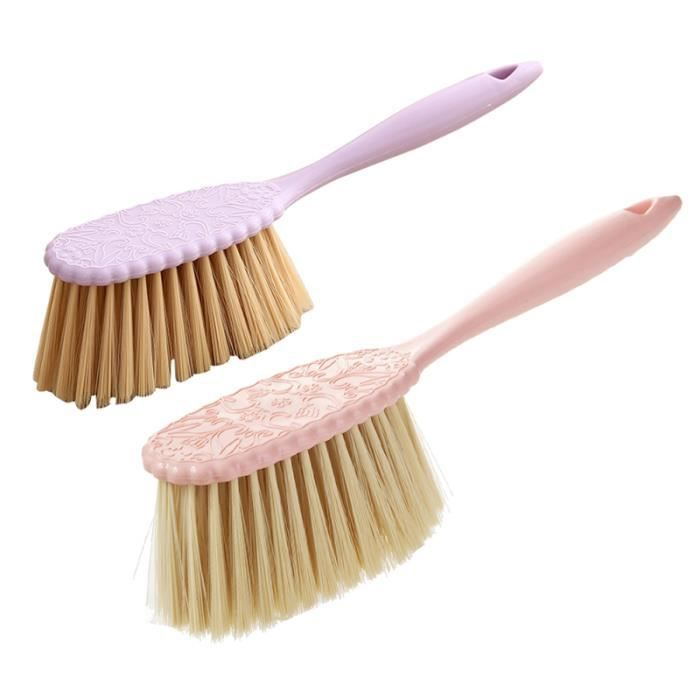 2pcs brosses de lit brosse en plastique durable à long manche pour chambre à FLEXIBLE D'ASPIRATEUR - FLEXIBLE D'ASPIRATION