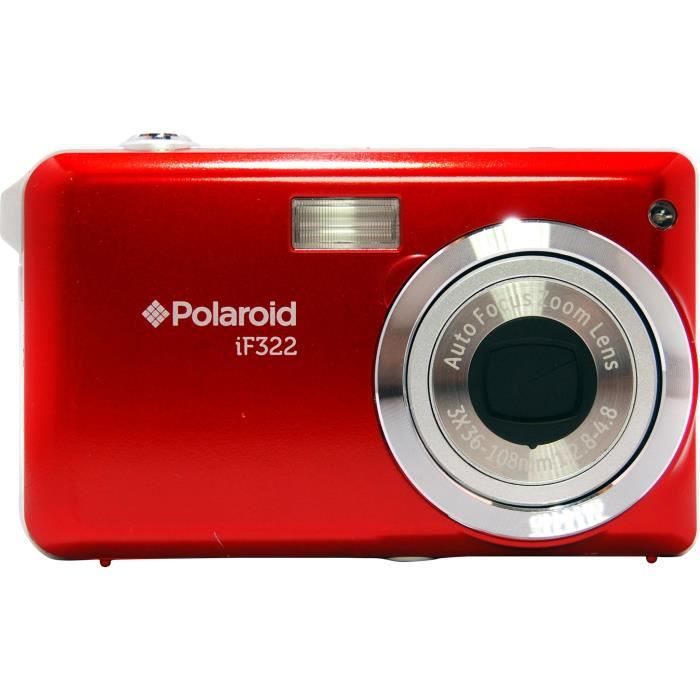 POLAROID Compact IF322 - Rouge -14 Mpixels