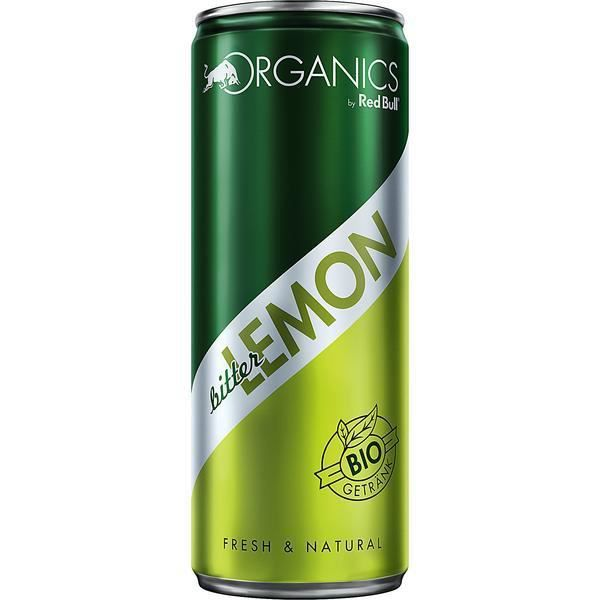 Red Bull Organics Bitter Lemon BIO boisson non-alcoolisée 12 x 0,25l