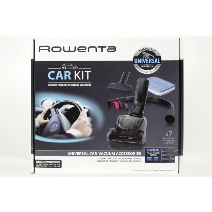 Rowenta 2211400077 Kit accessoires aspirateurs pour voiture - Compatible diamètre 32 et 35 mm