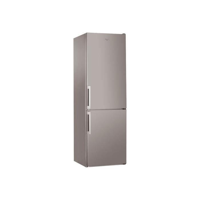 Whirlpool ABSOLUTE BSNF 8123 OXH Réfrigérateur-congélateur pose libre largeur : 59.5 cm profondeur : 68.8 cm hauteur : 188.8 cm…