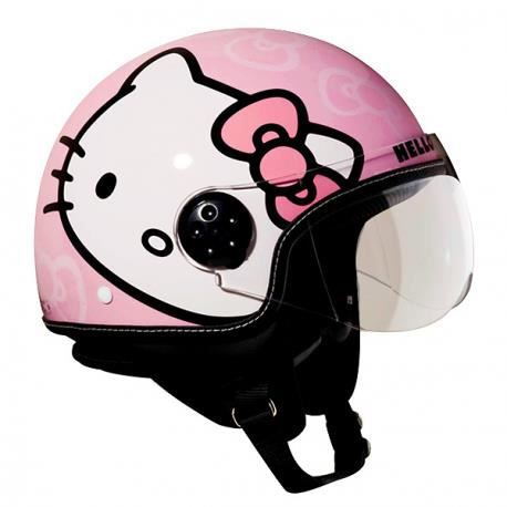 casque enfant hello kitty achat vente casque moto. Black Bedroom Furniture Sets. Home Design Ideas