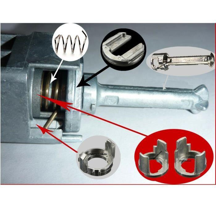 1x serrure de porte Kit de réparation avant Gauche /& Droit pour BMW 3er e46 NOUVEAU *