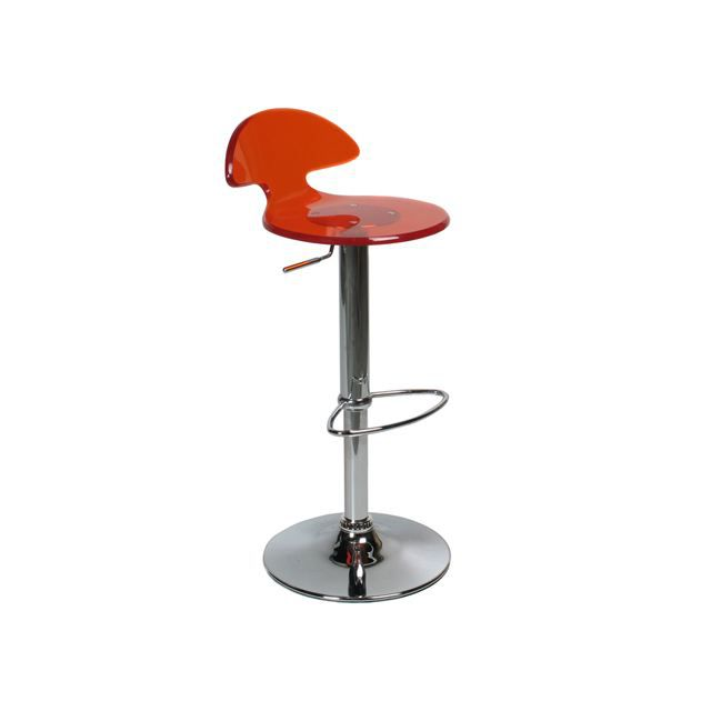 tabouret de bar moderne rouge ougo achat vente tabouret de bar cdiscount. Black Bedroom Furniture Sets. Home Design Ideas