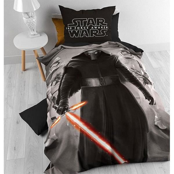 housse de couette star wars sector episode 7 achat vente housse de couette cdiscount. Black Bedroom Furniture Sets. Home Design Ideas
