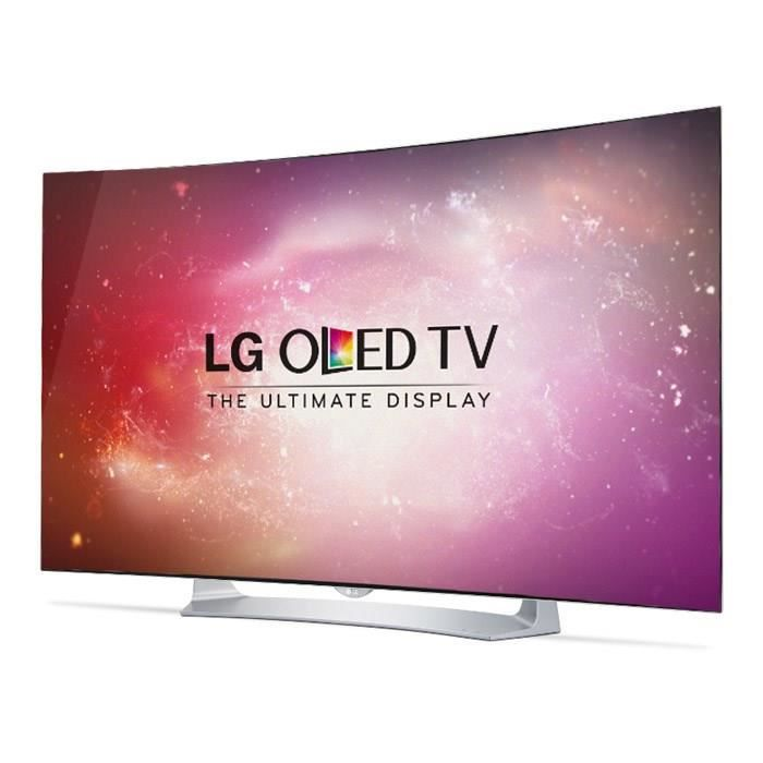 lg tv 55eg910 curved full hd 1080p 140cm 55 pouces oled smart tv 3d wifi dlna. Black Bedroom Furniture Sets. Home Design Ideas