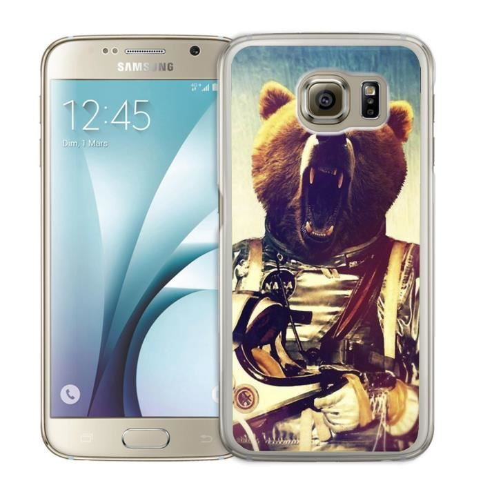 Coque Samsung Galaxy S4 Animal Astronaute - Ours