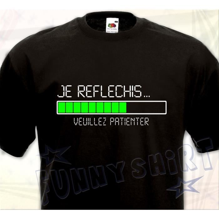 lech Tshirt Col Rond Homme T-shirt Homme Tshirt Noir Cadeau