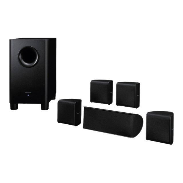 pack enceinte home cin ma pioneer s hs100 ensemble home cin ma avis et prix pas cher. Black Bedroom Furniture Sets. Home Design Ideas