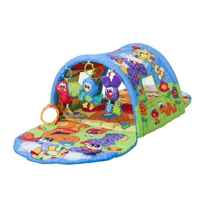 playgro tapis tunnel d 39 activit s musical achat vente tapis veil aire b b 9321104837752. Black Bedroom Furniture Sets. Home Design Ideas