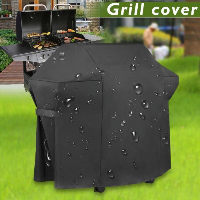 Jardin Patio Housse de Barbecue Bâche BBQ Grill Protection Etanche 170*61*117cm