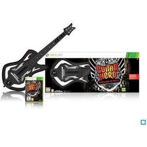 JEUX XBOX 360 Guitar Hero Warriors of Rock +Guitare Jeu XBOX 360