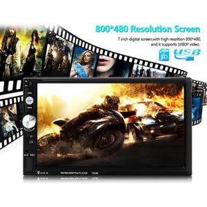 LECTEUR DVD PORTABLE 2 Din 6.6 '' LCD Touch 12V Autoradio Autoradio Sté