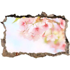 STICKERS fleurs lumineuses de cerisier sur la percée de la