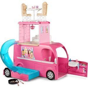 POUPÉE Barbie Mobilier Camping-Car Duplex pour poupées, v
