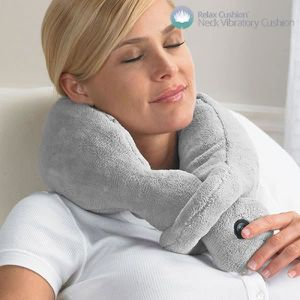 COUSSIN - CONFORT Coussin Cervical Massant Relax Cushion