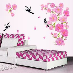 stickers fleur de cerisier achat vente stickers fleur de cerisier pas cher cdiscount. Black Bedroom Furniture Sets. Home Design Ideas