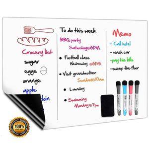 MINI-BAR – MINI FRIGO Tableau Blanc Magnétique A3+ Pour Frigo,Cuisine Me