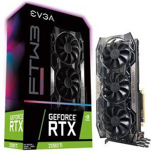 CARTE GRAPHIQUE INTERNE EVGA GeForce RTX 2080 Ti FTW3 Ultra Gaming, 11GB G