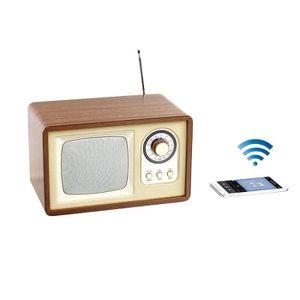 ENCEINTE NOMADE CLIPSONIC TES177 Enceinte radio rétro Bluetooth -