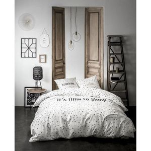 HOUSSE DE COUETTE ET TAIES TODAY Parure de couette - Gold is Black - Sleep Dr