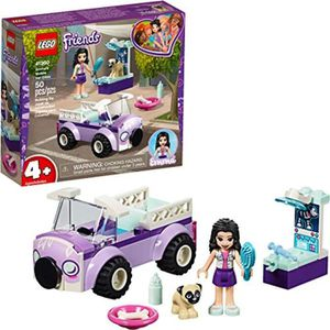 ASSEMBLAGE CONSTRUCTION Jeu D'Assemblage LEGO MGOKN Friends 4+ Emmas Mobil