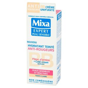 FOND DE TEINT - BASE MIXA BEBE Crème Visage Anti Rougeurs - Peaux Clair