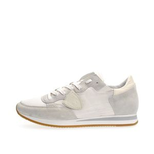 BASKET PHILIPPE MODEL PARIS SNEAKERS Homme WHITE, 45