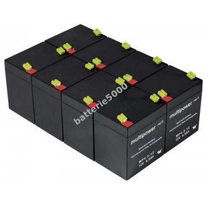 BATTERIE VÉHICULE Powery Batterie rechargeable de remplacement po...