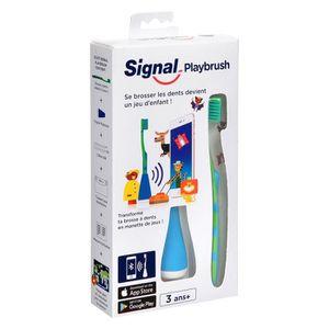 BROSSE A DENTS SIGNAL Playbrush - Brosse à dents connectée pour e