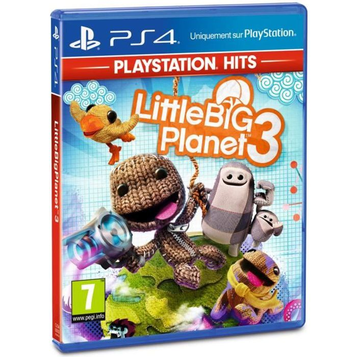 Little Big Planet 3 PlayStation Hits Jeu PS4