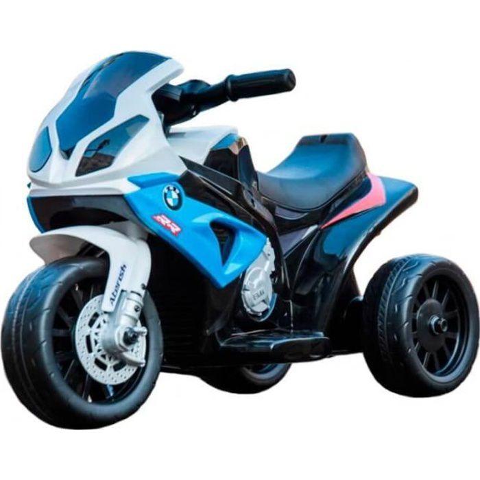 Moto avec licence BMW 6v - Moto électrique enfants Bleu - Moto électique pour enfant avec batterie