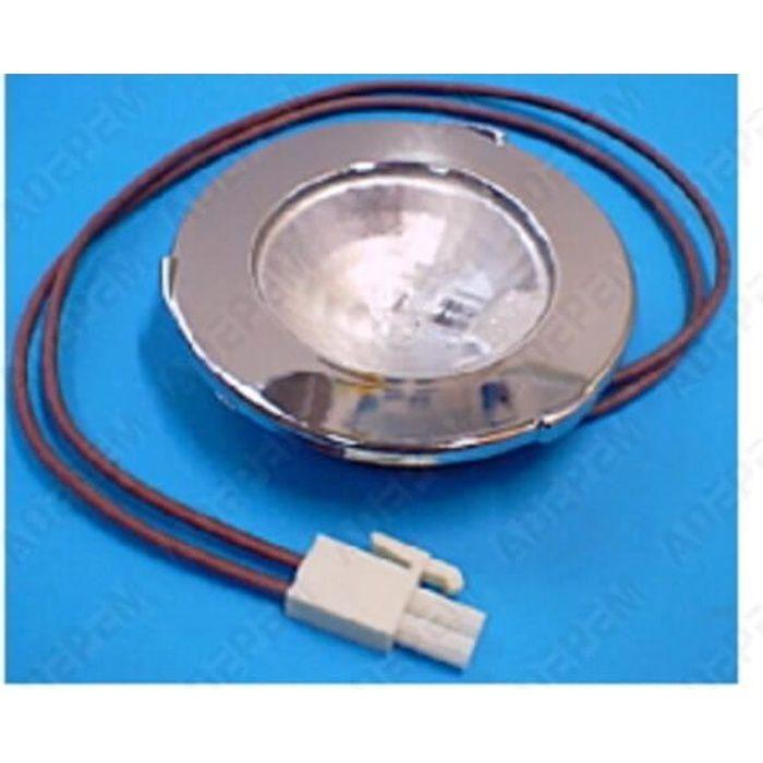 Spot + ampoule halogene 12v 20w pour Hotte Bosch, Droguerie Accessoire, Hotte Rosieres, Hotte Scholtes, Hotte Neff - 3665392017776