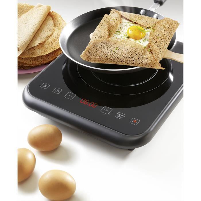 BRANDT TI1FSOFT Plaque de cuisson posable à induction Noir