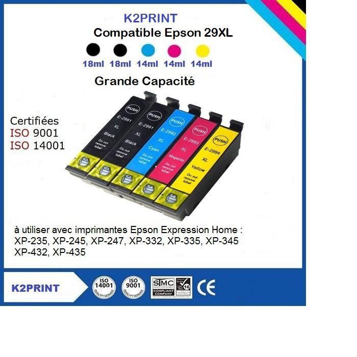 cartouche encre Epson Xp 235