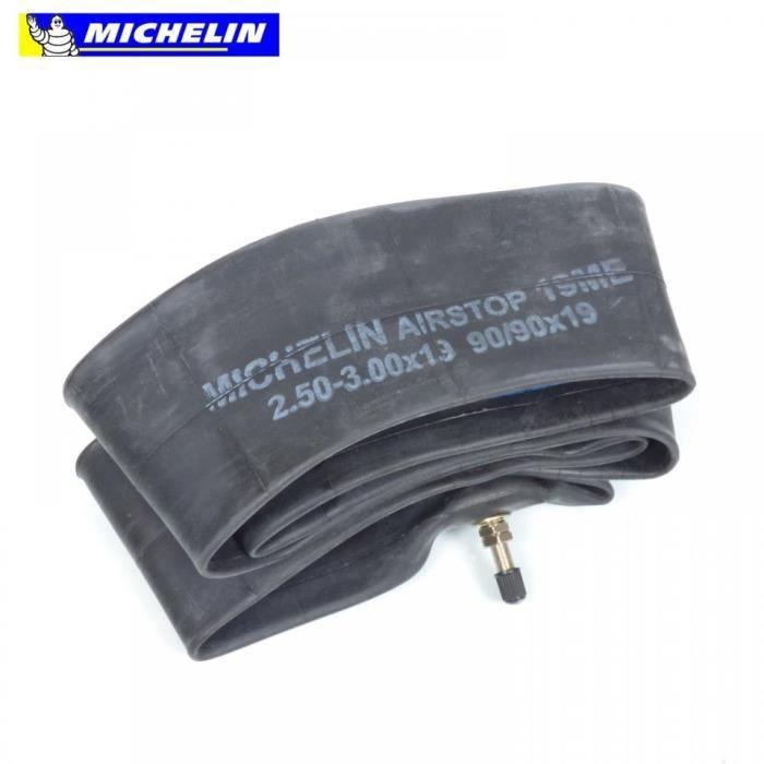 Chambre a air 19 pouces Michelin moto 2.50-19 3.00-19 90-90-19 19ME 390115 Neuf