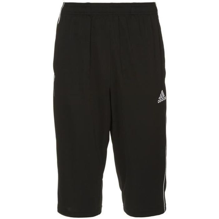 ADIDAS Short 3/4 de football Core 2018 - Homme - Noir