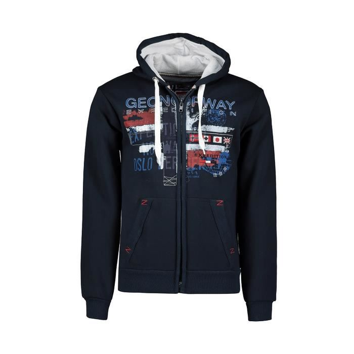 Sweat Homme Geographical Norway Getchup Marine