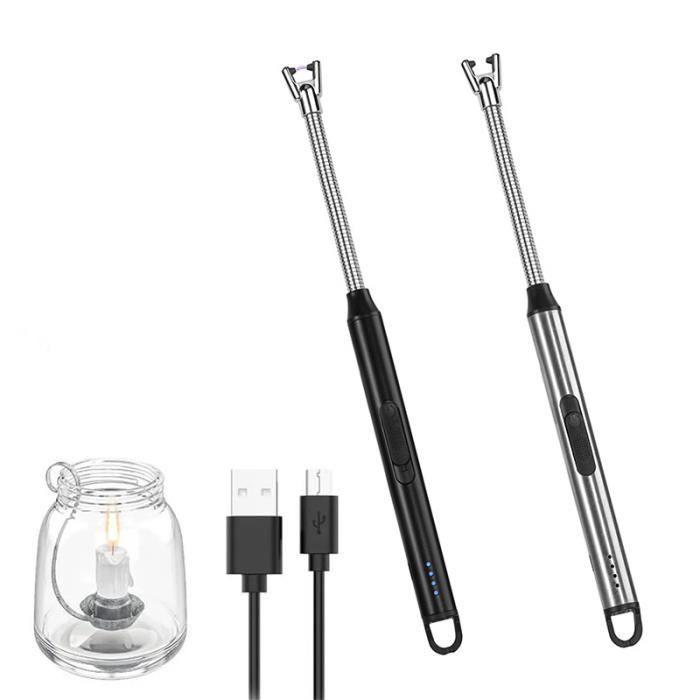 Bicyclette Light Set - USB rechargeable imperméable à l'eau ultra lumineux LED Light Front et 6 Modes LED Bicycle Light Tail