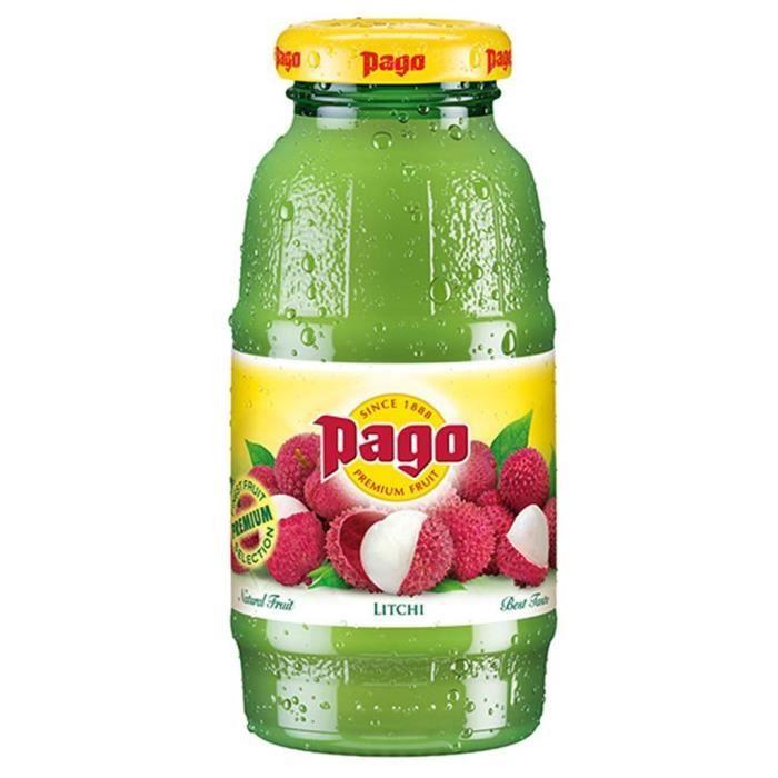 Pago Litchi 20cl (pack de 12)