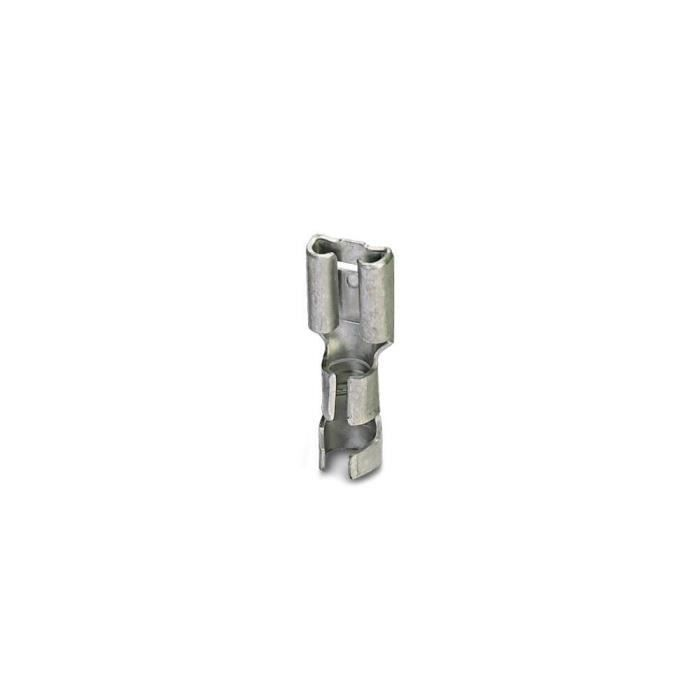 Cosse clip 6.3 mm x 0.8 mm Phoenix Contact 3240160 1.5 mm² 2.5 mm² non isolé métal 100 pc(s)